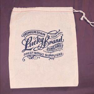 Lucky brand pouch